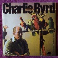 Discos de vinilo: CHARLIE BYRD, LATIN BYRD (HPVX 1983) 2 X LP GATEFOLD, SAMBA CARNAVAL DESAFINADO BOSSA NOVA. Lote 183418591