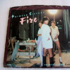 Discos de vinilo: POINTER SISTERS FIRE. Lote 52898037