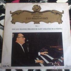 Discos de vinilo: JUAN SEBASTIAN BACH - JEAN COSTA - SAINT JOHANNIS - LP - VINILO - MOVIE PLAY - 1969. Lote 52899724