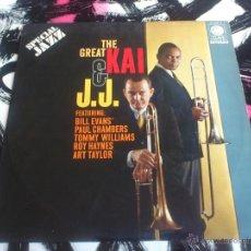 Discos de vinilo: THE GREAT KAI & J.J. - LP - VINILO - CLAVE - HISPAVOX - 1971. Lote 52899786
