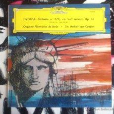 Discos de vinilo: ANTON DVORAK - ORQUESTA FILARMÓNICA BERLIN - KARAJAN - LP - VINILO - POLYDOR - 1976. Lote 52902535