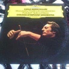 Discos de vinilo: GIULINI - MUSSORGSKY - PROKOFIEFF - CHICAGO SYMPHONY ORCHESTRA - LP - VINILO - POLYDOR - 1977. Lote 52903028