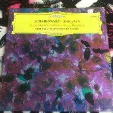 Discos de vinilo: TCHAIKOWSKY - KARAJAN - EL LAGO DE LOS CISNES - LA BELLA DURMIENTE - FILARMONICA DE BERLIN - VINILO . Lote 52903116