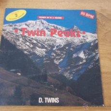 Discos de vinilo: D. TWINS TWIN PEAKS FALLING MAXI 12 EDICION ITALIANA. Lote 52903310