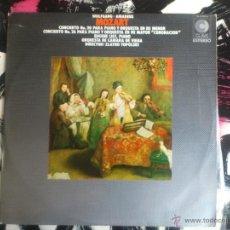 Discos de vinilo: MOZART - EUGENE LIST - ORQUESTA DE CAMARA DE VIENA - TOPOLOSKI - VINILO - CLAVE - 1971. Lote 52903620