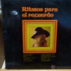 Discos de vinilo: RITMOS PARA EL RECUERDO-LP. Lote 52904097