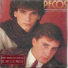 Discos de vinilo: PECOS. QUE NO LASTIMEN A TU CORAZON (VINILO + LIBRO DE POEMAS 198). Lote 52904256