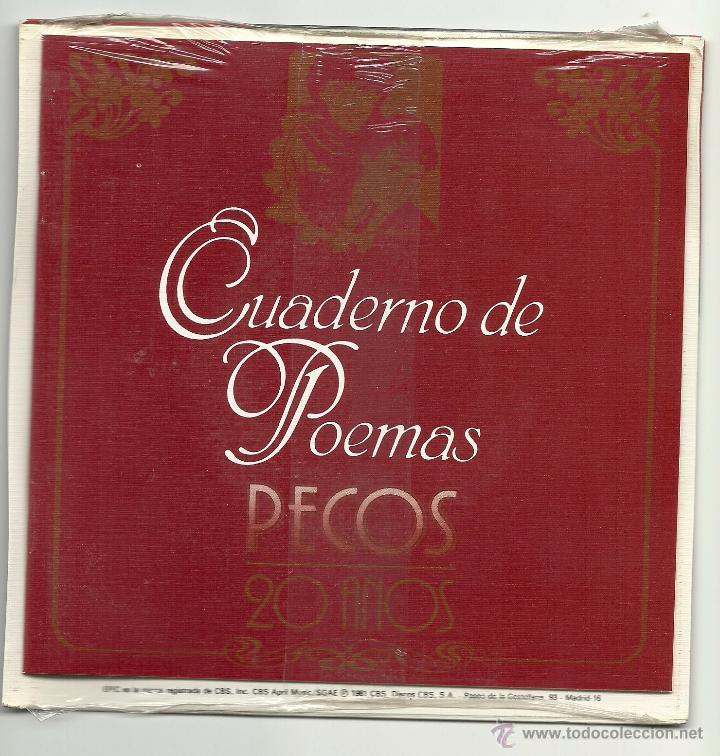 Discos de vinilo: PECOS. Que no lastimen a tu corazon (vinilo + libro de poemas 198) - Foto 2 - 52904256