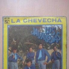 Discos de vinilo: LOS JAVALOYAS- CHEVECHA/ QUISIERA- SINGLE EMI 1969. Lote 52909583