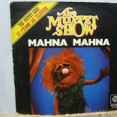 Discos de vinilo: THE MUPPET SHOWN-MAHNA MAHNA -LOS TELEÑECOS. Lote 52909771