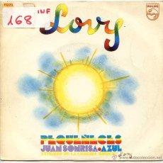 Discos de vinilo: PEQUEÑECES / JUAN SONRISA / AZUL (SINGLE 1971). Lote 52913807