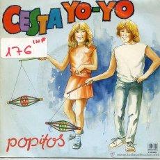 Discos de vinilo: POPITOS / CESTA YO-YO / QUERIDO MUNDO (SINGLE 1984). Lote 52914212