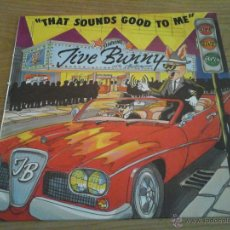 Discos de vinilo: JIVE BUNNY AND THE MASTERMIXERS - THAT SOUNDS GOOD TO ME - VINILO MAXI SINGLE 1990 BCM REC GERMANY. Lote 52914343