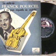 Discos de vinilo: FRANCK POURCEL - LOS EXITOS DE FRANCK POURCEL Y SU GRAN ORQUESTA DE CUERDAS. Lote 52915940