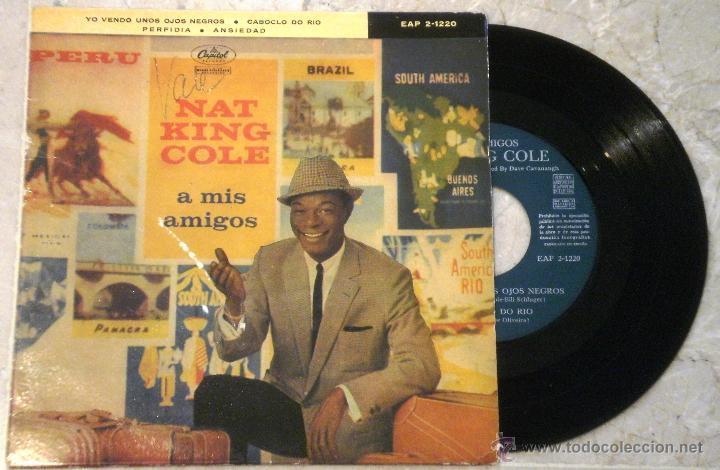 NAT KING COLE - A MIS AMIGOS (Música - Discos de Vinilo - EPs - Funk, Soul y Black Music)