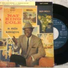 Discos de vinilo: NAT KING COLE - A MIS AMIGOS. Lote 52916103