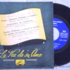 Discos de vinilo: PIANO Y ORQUESTA SINFONICA DE LONDRES - CONCIERTO DE VARSOVIA. Lote 52916176