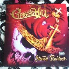 Discos de vinilo: CYPRESS HILL - STONED RAIDERS - DOBLE VINILO - LP - SONY - 2001. Lote 52918832