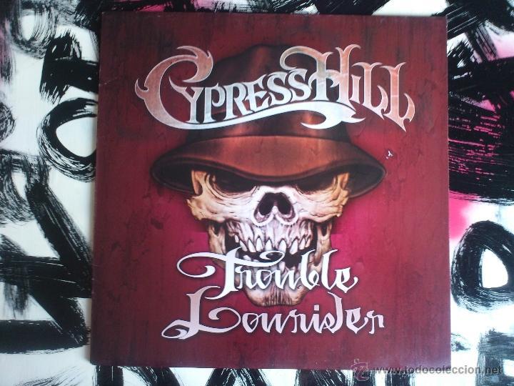 CYPRESS HILL - TROUBLE LOWRIDER VINILO - SONY - 2001 (Música - Discos de Vinilo - Maxi Singles - Rap / Hip Hop)