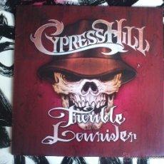 Discos de vinilo: CYPRESS HILL - TROUBLE LOWRIDER VINILO - SONY - 2001. Lote 52919127
