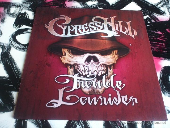 Discos de vinilo: CYPRESS HILL - TROUBLE LOWRIDER VINILO - SONY - 2001 - Foto 3 - 52919127