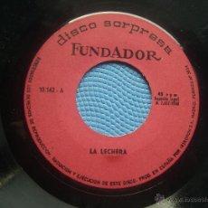 Discos de vinilo: SINGLE SIN CARATULA A LECHERA SINGLE 1968. Lote 52925188
