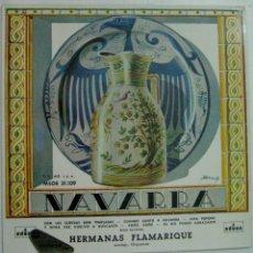 Discos de vinilo: DISCO 7PULGADAS HERMANAS FLAMARIQUE - NAVARRA - MSOE 31.109. Lote 52925711