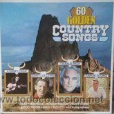 Discos de vinilo: 60 GOLDEN COUNTRY SONGS. Lote 52927484