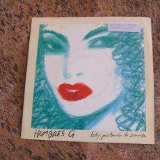 Discos de vinilo: HOMBRES G - ESTOY PINTANDO TU SONRISA - SINGLE 1991 (TWINS). Lote 52935460