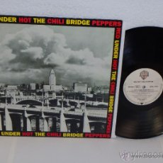 Discos de vinilo: RED HOT CHILI PEPPERS / UNDER THE BRIDGE 92 !! RARO PROMOCIONAL 4 TEMAS, 1ª EDIT. USA !! EXC !!. Lote 52936179