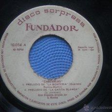 Discos de vinilo: SINGLE SIN CARATULA ZARZUELAS EP 1964 VER FOTOS. Lote 52940459