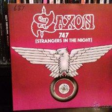 Discos de vinilo: SAXON - 747 (STANGERS IN THE NIGHT). Lote 52942423