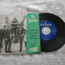 Discos de vinilo: THE BEATLES 7´EP ROCK AND ROLL MUSIC + 3 TEMAS (1964) PRIMERA EDICION ESPAÑOLA. Lote 52945524