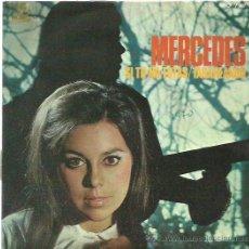 Discos de vinilo: MERCEDES SINGLE SELLO COLUMBIA AÑO 1970 PROMOCIONAL . Lote 52946391