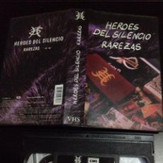 Discos de vinilo: HEROES DEL SILENCIO:RAREZAS.(VHS). Lote 52946456