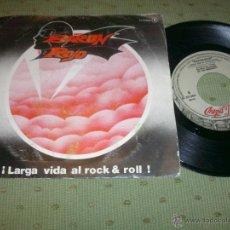 Discos de vinilo: BARON ROJO BARON ROJO LARGA VIDA AL ROCK & ROLL 1981 SINGLE. Lote 52948241