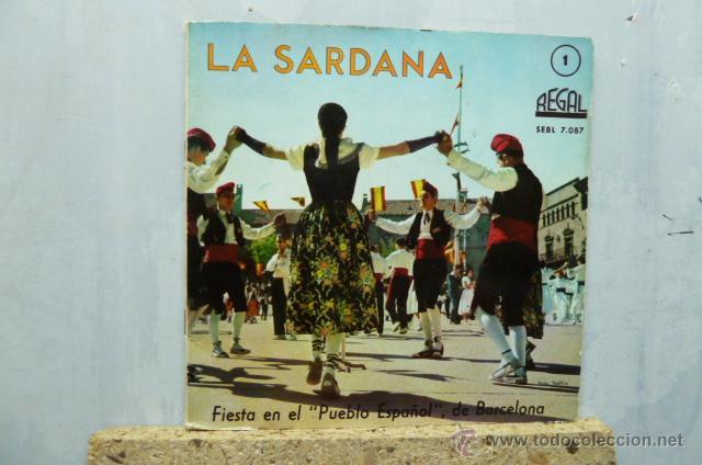 LA SARDANA (Música - Discos de Vinilo - EPs - Étnicas y Músicas del Mundo)