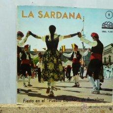 Discos de vinilo: LA SARDANA . Lote 52949442