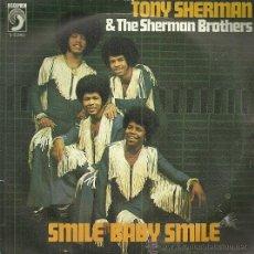 Discos de vinilo: TONY SHERMAN & THE SHERMAN BROTHERS SINGLE SELLO DISCOPHON AÑO 1976. Lote 52949732