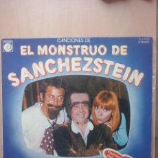 Discos de vinilo: CANCIONES ORIGINALES DEL PROGRAMA DE TV EL MONSTRUO DE SANCHEZTEIN- LP NOVOLA 1978 . Lote 52950199