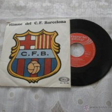 Discos de vinilo: HIMNO DEL C.F.BARCELONA 7´EP (1969) *EXCLENTE ESTADO* COLECCION (HIMNO ANTERIOR AL ACTUAL). Lote 52955978
