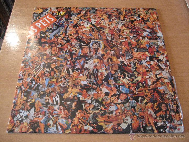 PETS, ELS, - FRUITS SEX, LP,,CERVESA, NENES I ROCK´N´ROLL + 11 AÑO 1992 (Música - Discos - LP Vinilo - Grupos Españoles de los 90 a la actualidad)