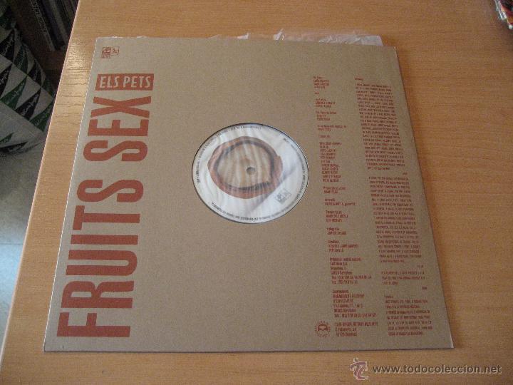 Discos de vinilo: ELS PETS - FRUITS SEX, LP,,CERVESA, NENES I ROCK´N´ROLL + 11 AÑO 1992 - Foto 3 - 52961253