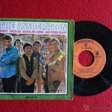 Discos de vinilo: THE ASSOCIATION - WINDY / CHERISH / NUNCA MI AMOR / AHI VIENE MARY // EP // 1968. Lote 52968571