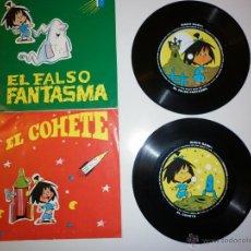 Discos de vinilo: LOTE 2 FLEXI DISC FAMÍLIA TELERÍN 1965. Lote 52968922