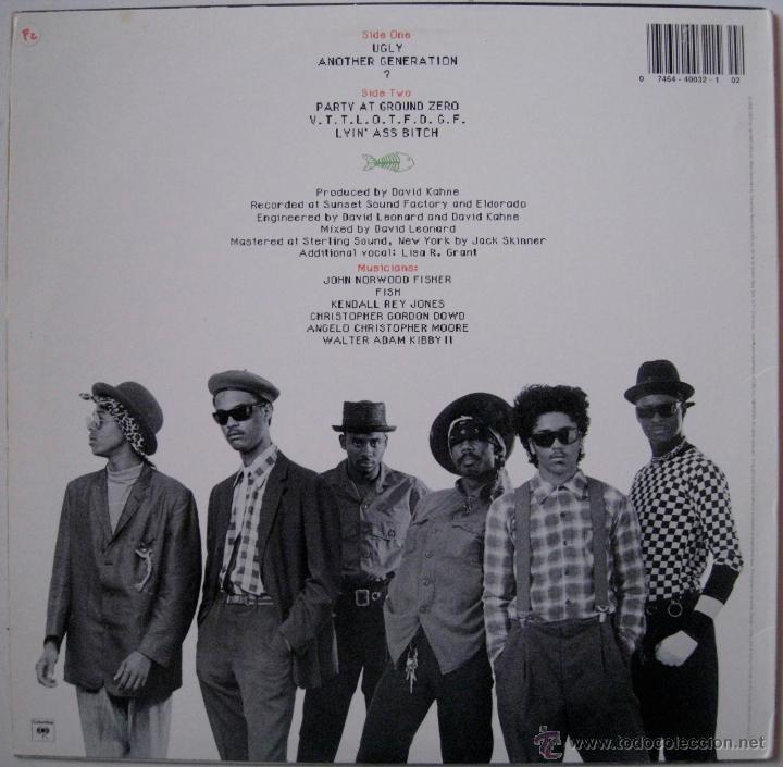 Discos de vinilo: FISHBONE EP 12 - UK 1985 - Foto 2 - 52973547