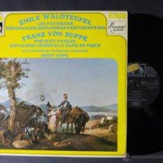 Discos de vinilo: DISCO VINILO EMILE WALDTEUFEL LES PATINEURS ESPANA LES GRENADIERS EMI LA VOZ DE SU AMO 1970 DCL029. Lote 52975589