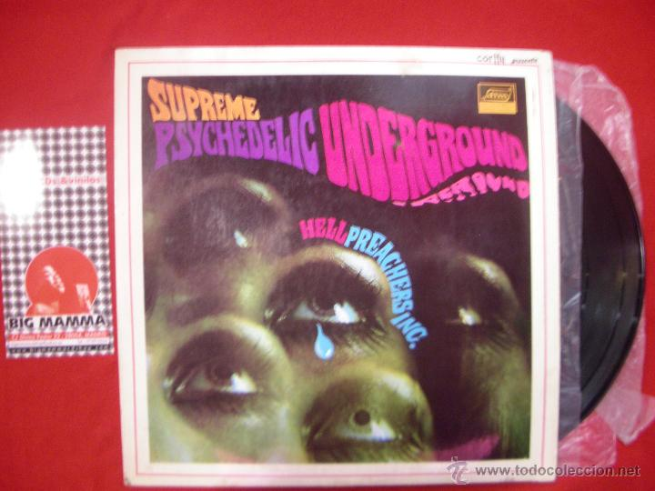 Hell preachers inc  - supreme psychedelic under - Sold