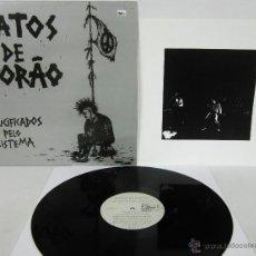Discos de vinil: RATOS DE PORAO - CRUCIFICADOS PELO SISTEMA - LP - PUNK - TRALLA RECORDS 92 ORIGINAL LETRAS - N MINT. Lote 52983089