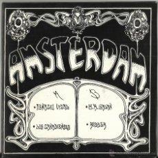Discos de vinilo: AMSTERDAM EP IGNACIO VIDAL-LOS CANADIENSES-M.A.GALAN-RUBBER.CARPETA DOBLE.1992.RAREZA. Lote 52988919
